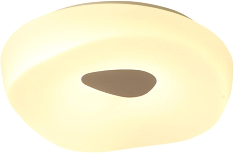 alto descuento Guoshop- Estilo Europeo Europeo Europeo Creativo llevó Moderno Simple Dormitorio balcón Pasillo lámparas acrílico Techo Luces LED Parche (Tamao   S)  estilo clásico