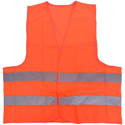 ミドリ安全 高視認安全ベスト 蛍光オレンジ 4073160040 安全ベスト