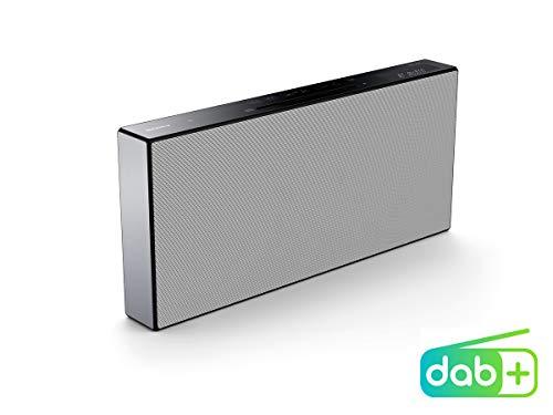 Sony CMTX5CDBW.CEL - Sistema de audio de 40W (CD, USB, NFC y Bluetooth), plateado