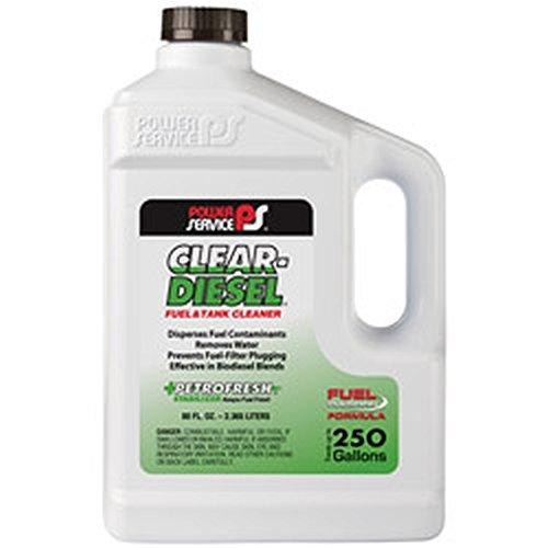 Power Service 09280-06 Clear-Diesel Fuel & Tank Cleaner - 80 oz.