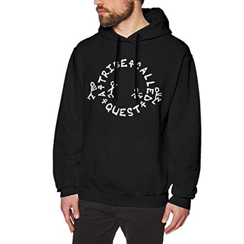 lifangtaoT Hombre Sudaderas con Capucha, A Tribe Called Quest Men's Hoodie Sweatshirt Heavyweight Casual Long Sleeve Tshirt