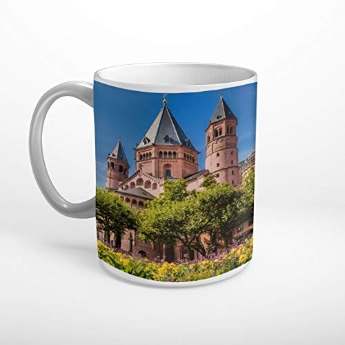 Stufffactory Mainzer Dom Mainz Tasse Spruch Motiv Fototasse Kaffeebecher T1350