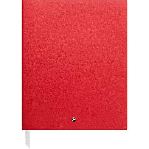 Montblanc (PRODUCT) RED 118820 – Cuaderno #149 Fine Stationery – Bloc de Dibujo en blanco – Cuaderno de bocetos A4 – 210 x 260 mm, tapa color rojo