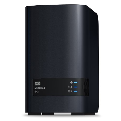 WD My Cloud EX2 Ultra NAS 2 Bay Sem Discos Servidor NAS USB 3.0 WDBVBZ0000NCH-NESN