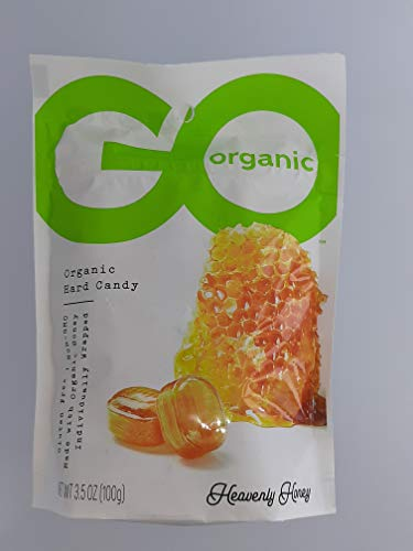 Go Organic Hard Candy  Honey  35 Oz  Case Of 6