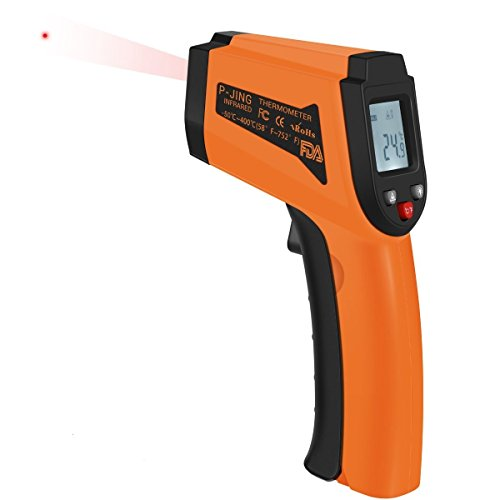 Digital Infrared Thermometer, Food Thermometer, Non-contact Infrared Thermometer Gun With Laser and LCD Backlit, Instant-read Temperature For Cooking,Food, Meat, Water, Good Helper for Industry ,Kitch