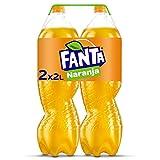Fanta Refresco con 8% de Zumo de Naranja, Pack 2x 2L
