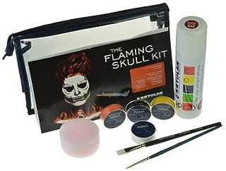 Flaming Skull Kit Kryolan