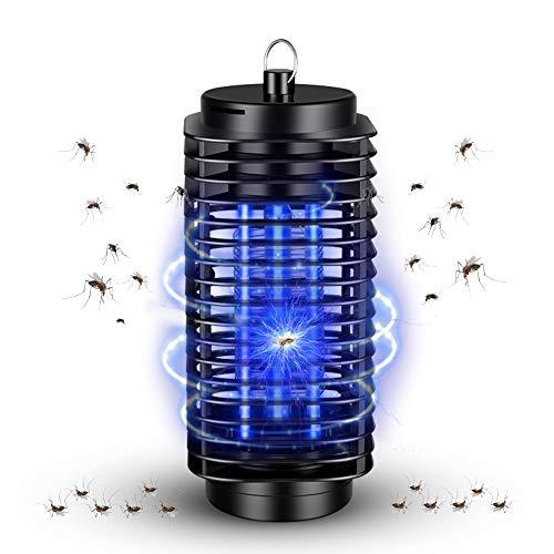 Redmoo Elektrischer Insektenvernichter, UV Insektenvernichter Mückenfalle Fliegenfalle Insektenfalle, Moskito Killer Lampe UV für Innen und Außeneinsatz Schlafzimmer Gärten