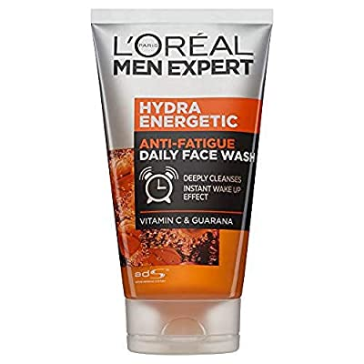 L'Oreal Men Expert Hydra Energetic Anti-Fatigue Daily Face Wash, 100 ml by L'Oreal