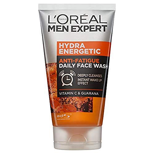 L'Oreal Men Expert Hydra Energetic Anti-Fatigue Daily Face Wash, 100 ml
