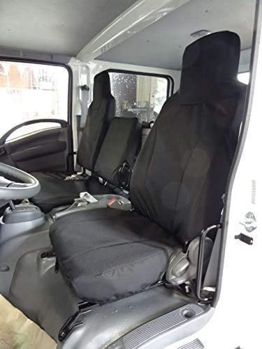 MunFer Direct sale of manufacturer Seat Covers Custom Fit New mail order for NPR Isuzu 200 W4500 Gray GMC