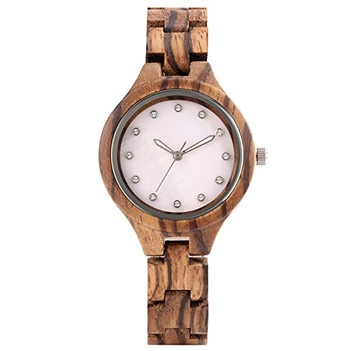 Wood Women Watch Wristwatch Full Wooden Bracelet Ladies Watches onlywatch1