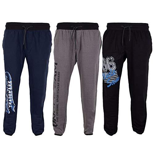 Uncle Sam Herren Bodyhose Jogginghose, Verschiedene Styles, Größe:M, Farbe:Black