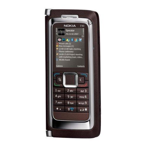 Nokia E90 Smartphone UMTS Handy mokka ohne Branding