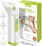 Baby Nasal Aspirator for Baby, DynaBliss Electric Baby Nose Sucker Rechargable Snot Sucker for Newborn with 4 Silicone Tips and Adjustable Suction Power