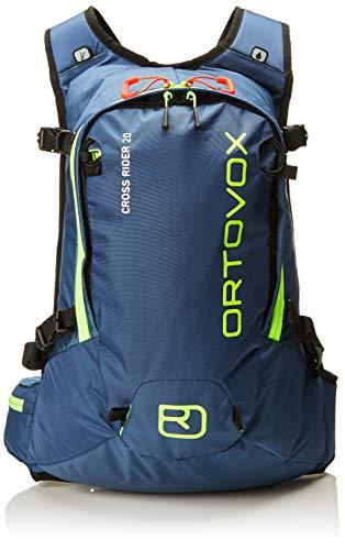 Ortovox Cross Rider 20, Zaino Unisex-Adulto, Blu (Night Blue), 24x36x45 Centimeters (W x H x L)