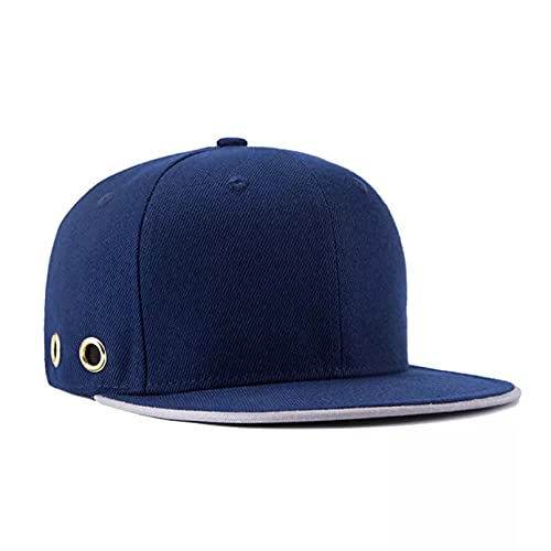 TDPYT Sombrero de Hip Hop de poliéster Gorra de béisbol para Hombre Gorra Snapback Gorra de ala Plana sólida de Hiphop para Mujer Un Regalo de cumpleaños para el