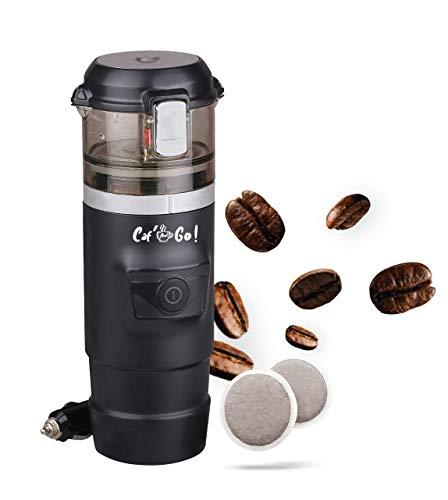 Caf and Go - Macchina da caffè portatile per auto, camion, caravan, auto