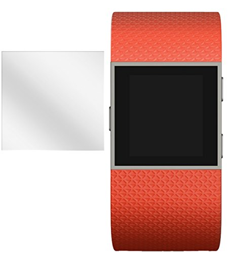 dipos I 6x Schutzfolie klar kompatibel mit FitBit Surge Folie Bildschirmschutzfolie
