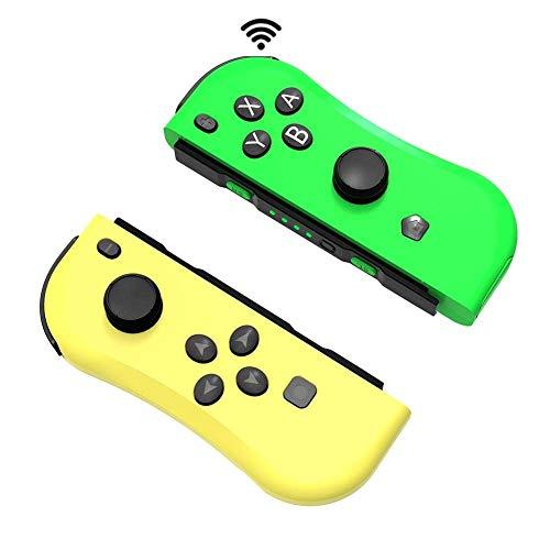 Mando para Nintendo Switch, ANTCOOL Gamepad Bluetooth Joystick Controlador Construido en Giroscopio y Motor de Vibración