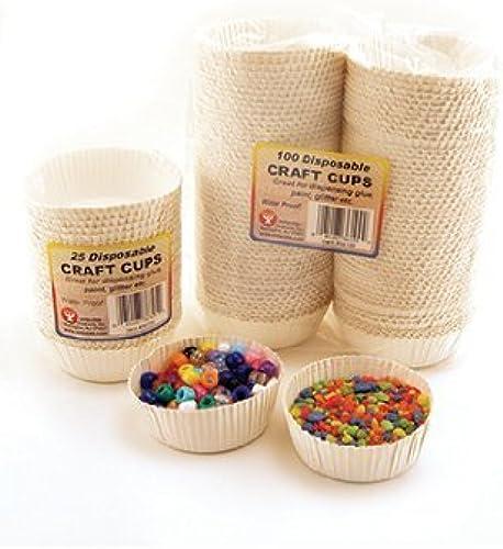 solo para ti Hygloss Products Inc. Craft Cups 100 Cups Cups Cups by Hygloss Products Inc  orden ahora disfrutar de gran descuento