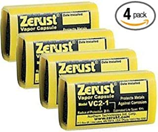 Zerust 11327 Anti-Rust And Corrosion Vapor Capsules, 4-Pack