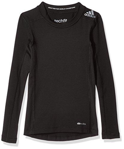 adidas Jungen T-shirt YB TF LS TEE, Black, 140