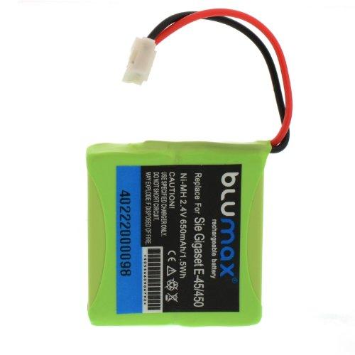 Blumax V30145-K1310-X382 NI-MH Akku (650mAh) für Siemens Gigaset E455/ECO E-45/E-450/E-455
