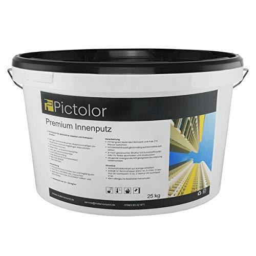 Pictolor Premium-Innenputz 25kg Körnung: 1mm