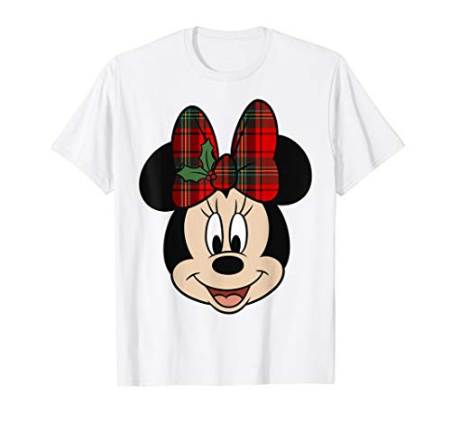 Disney Minnie Mouse Christmas Bow T-Shirt