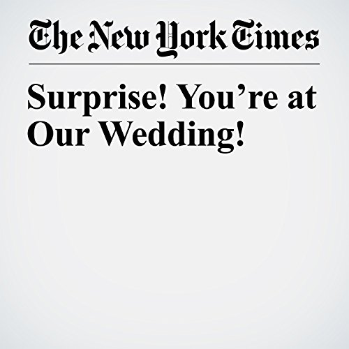 Surprise! You're at Our Wedding! copertina