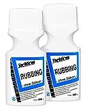 YACHTICON Rubbing feine Schleifpolitur - 2 Flaschen zu je 500ml = 1 Liter