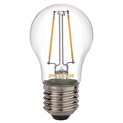 Sylvania Toledo 0027240 Rétro Boule Lampe LED, verre, Home LED, E27, 2 W