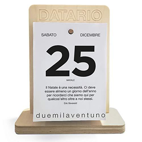Calendario aforismi 2022 da tavolo - Calendario frasi filosofiche da scrivania con base in...