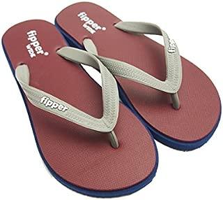 [Fiper] 沙滩凉鞋 宽型 发动机/*蓝/灰色 男女通用 天然橡胶制 FJ02-W05