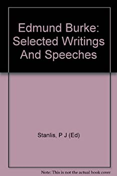 Hardcover Edmund Burke: Selected Writings And Speeches Book