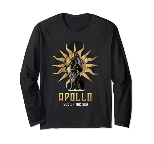 Dioses de Olimpiada o Apolo Dios del Sol o Dios Griego Antiguo Manga Larga