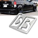 xb scion emblem - BB Outline Trunk Badge Emblem Compatible with 2003-2007 Scion XB