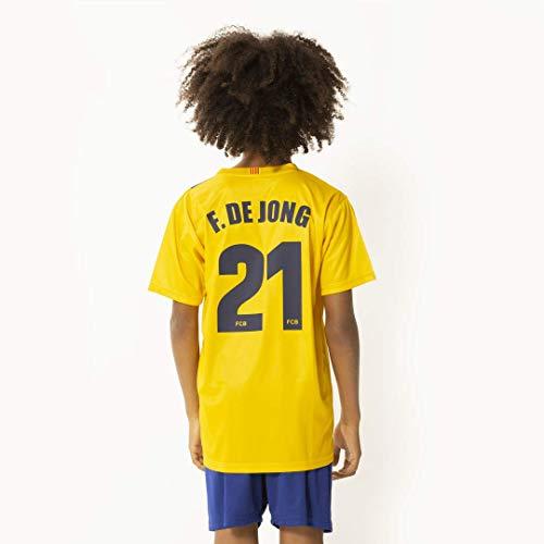 FC Barcelona Frenkie uit tenue 19/20 - De Jong voetbaltenue - Frenkie shirt en broek