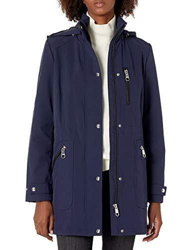 Calvin Klein Rain Anorak Damen Softshelljacke - Blau - X-Klein