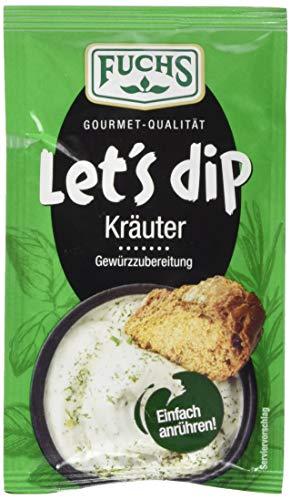 Fuchs Gewürze Let's Dip Kräuter Gewürzzubereitung, 12.5 g 128905