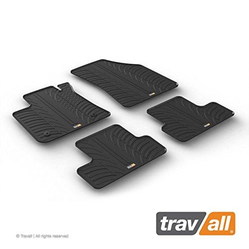 Travall Mats Gummifußmatten Kompatibel Mit Renault Megane Kombi (Ab 2016) TRM1238 - Allwettermatten Nach Maß Fussmatten Set