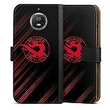Étui Compatible avec Motorola Moto G5s Étui Folio Étui magnétique Diables Rouges Produit sous...