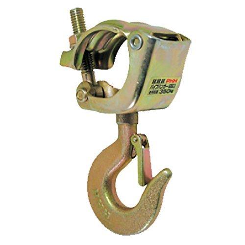 単管 に設置できる パイプハンガー フック型 PHH 使用荷重 350kg 42.7 mm から 48.6 mm 用 スリーエッチ HHH H