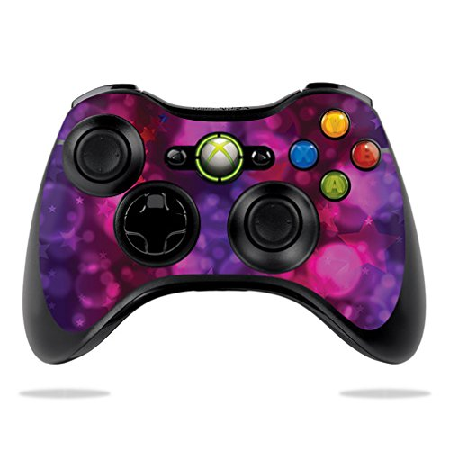 MightySkins Skin Compatible with Microsoft Xbox 360 Controller - Star Power   Protective, Durable, and Unique Vinyl Decal wrap Cover   Easy to Apply, Remove, and Change Styles   Made in The USA