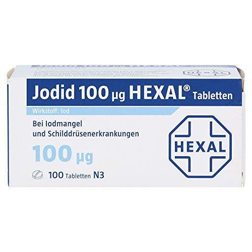 JODID 100 HEXAL Tabletten 100 St