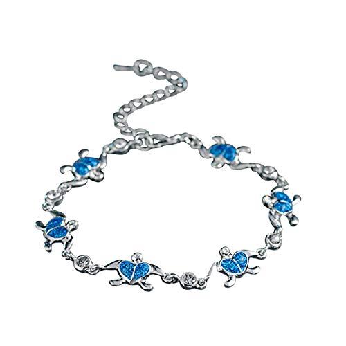 Pulsera de mujer de Comice, pulsera de perlas, pulsera con estrellas, pulsera con colgantes, pulsera de cadena para hombres y mujeres, regalo