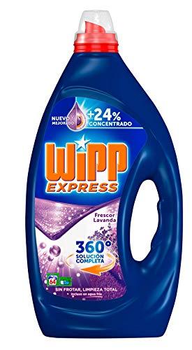 Wipp Express Detergente Líquido Lavanda - 64 Lavados (3,2 L)