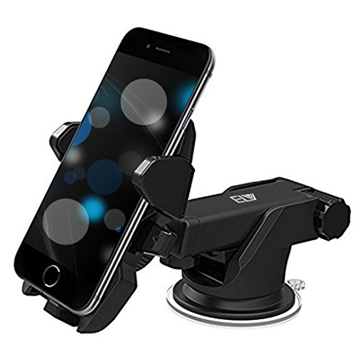 ELV Car Mount Adjustable Car Phone Holder Universal Long Arm, Windshield for...